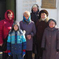 В воскресенье паломники вернулись из Каргополя и Святой обители Александро-Ошевенского монастыря.