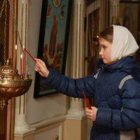 Праздничное Богослужение в Богоявленском храме с. Ошевенское.