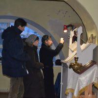 Праздничная служба в Александро- Ошевенском монастыре с крестным ходом к Богоявленскому храму.