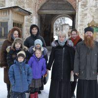 В прошедшие выходные, 27 и 28 января, состоялась вторая поездка в Александро-Ошевенский и Антониево-Сийский монастыри, организованная нашей паломнической службой.