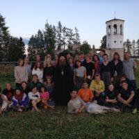 Учащиеся московской гимназии провели десять дней в Александро-Ошевенском монастыре.
