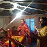 Престольный праздник в Ошевенском храме.