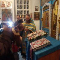 Престольный праздник в Покровском храме подворья Александро-Ошевенского монастыря.