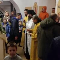 Рождественское богослужение в Александро-Ошевенской обители.