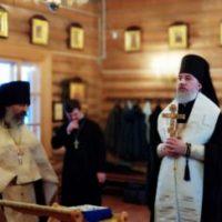 Духовенство Плесецкой и Каргопольской епархии поздравило своего правящего архиерея с праздником Рождества Христова.