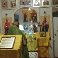 В первый день нового года в Александро-Ошевенском монастыре была отслужена Божественная литургия и новогодний молебен.