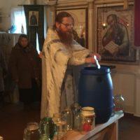 Праздник Крещения Господня молитвенно встретили в Александро-Ошевенском монастыре.