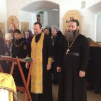 Паломники из Онеги посетили Александро-Ошевенский монастырь.