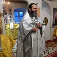 В праздник Сретения Господня в Александро-Ошевенском монастыре была отслужена Божественная литургия.