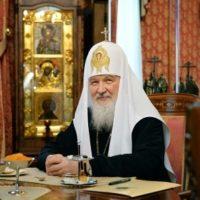 В день десятилетия интронизации святейшего патриарха Кирилла в Александро-Ошевенском монастыре была отслужена Божественная литургия и благодарственный молебен.