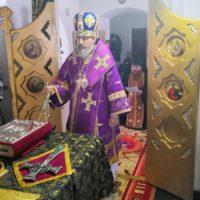 Епископ Александр отслужил первую в Великом посту Литургию Преждеосвященных Даров.