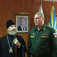Епископ Плесецкий и Каргопольский Александр (Зайцев) и начальник космодрома Плесецк посетили Александро-Ошевенский монастырь.
