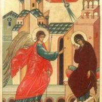 В Александро-Ошевенской обители радостно встретили светлый праздник Благовещения Пресвятой Богородицы.