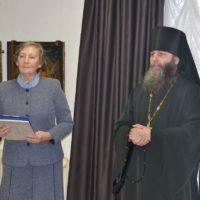Выставка уникальных икон Ошевенского храма продолжает свою работу в Архангельске.
