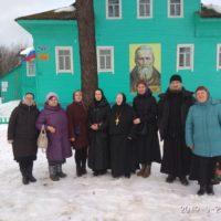 Паломническая служба Александро-Ошевенского монастыря организовала поездку в Артемиево-Веркольский монастырь и в село Суру.