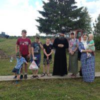 Группа детей из Мурманска посетила Александро-Ошевенский монастырь.
