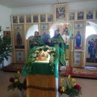 В день Святой Троицы в обители преподобного Александра были отслужены праздничные богослужения.