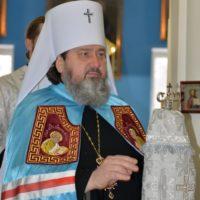 Митрополит Херсонский и Таврический Иоанн с группой паломников посетил Александро-Ошевенский монастырь.