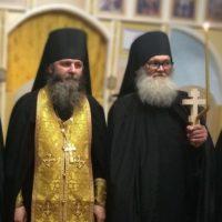 Монашеский постриг в обители преподобного Александра.
