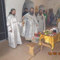 В обители преподобного Александра Ошевенского светло встретили Праздник Преображения Господня