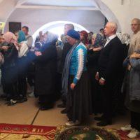 Верующие из города Мирного посетили Александро-Ошевенский монастырь в день престольного праздника.