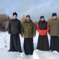 Настоятель Богоявленского Кожеозерского монастыря игумен Феодосий (Курицын) посетил вверенную ему обитель.