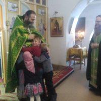 День Ангела наместника монастыря игумена Феодосия отпраздновали в обители.