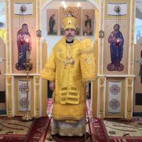 Правящий архиерей Плесецкой и Каргопольской епархии отслужил в обители Божественную литургию.