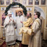 Правящий архиерей Плесецкой и Каргопольской епархии совершил в монастыре диаконскую хиротонию.