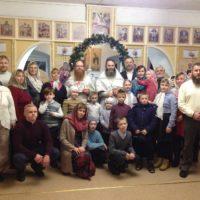 Праздник Рождества Христова молитвенно встретили в обители преподобного Александра.
