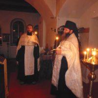 Престольный праздник в Богоявленском Кожеезерском монастыре.
