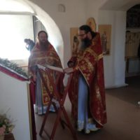 В День Победы в обители были отслужены Божественная литургия, благодарственный молебен и лития.