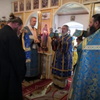 Престольный праздник Свято-Успенской Александро-Ошевенской обители.