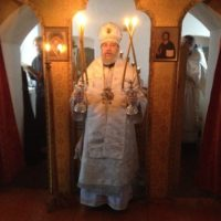 Праздничное богослужение в Кожеезерской обители.
