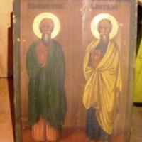 Обрелись 9 монастырских икон — иконостасных